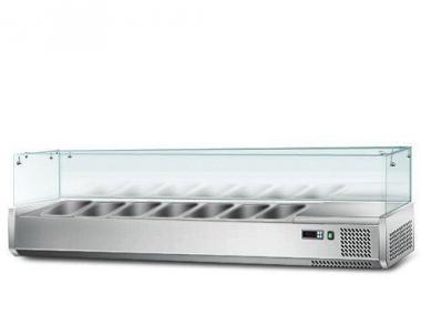 Витрина для гастроемкостей GGM AGS163 (холодильная)