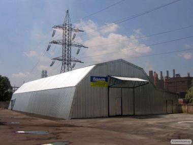 Уникальное решение для покрытия зернохранилищ и арочных конструкций