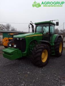 Трактор колёсный JOHN DEERE 8220+GPS AUTOTREK (2003)