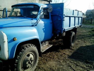Вантажні перевезення ГАЗ 53 самоскид