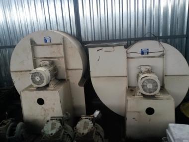 Вентилятор равлик MXE016-025 15000 м3/год, 1600 Па.