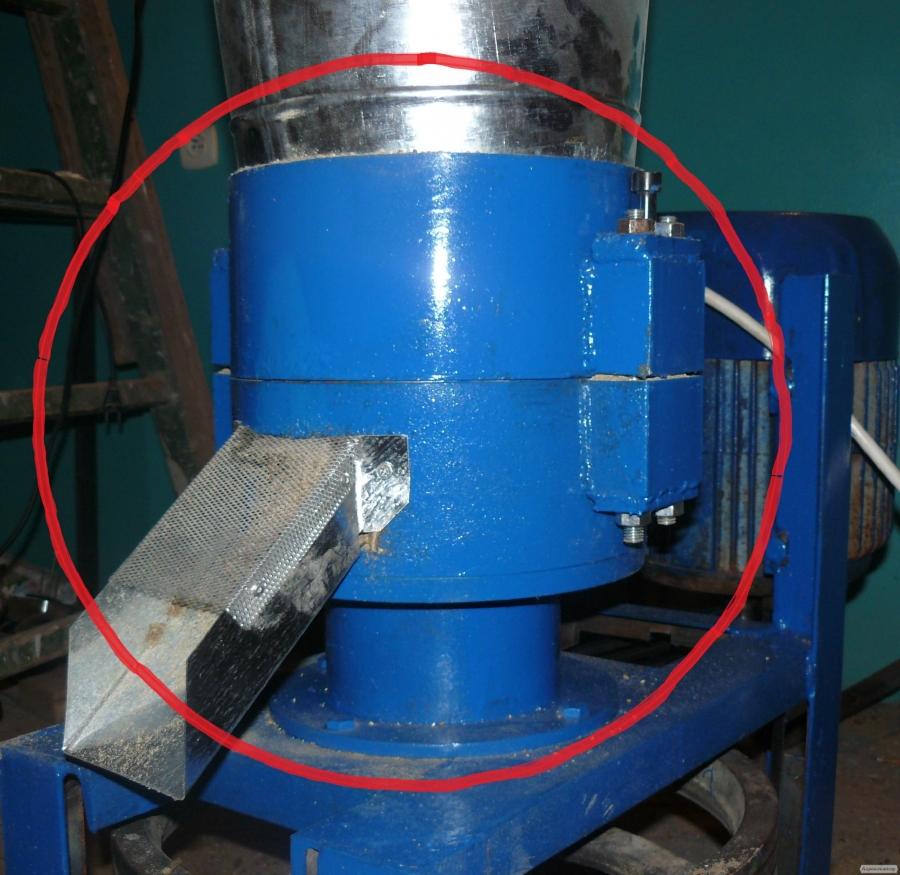 Голова гранулятора 100-120 кг/год
