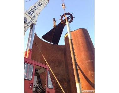 Резервуари сталеві РВС 100-5000 куб. м. , Понтони (США) ,