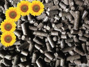 Продам пеллети з чистою лушпиння соняшнику