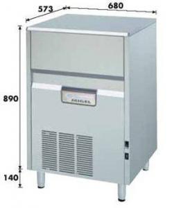 Льдогенератор 71 кг/сутки KL-72A