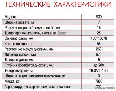 Борона важка дісколаповая Agroland ДЛБ-01/ Б-15/ Б-20/ Б-30