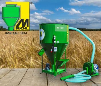 Комбікормовий завод від Польського Виробника M - ROL. 1500 кг/годину