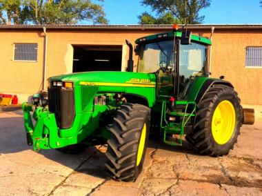 Трактор John Deere 8410 (2001)