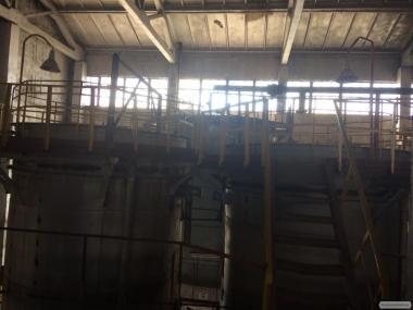Ёмкости Вертикальные металлические под налив/ сыпучие