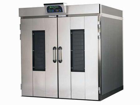Шкаф расстоечный TESLA  D4CFR двухдверный на 4 тележки