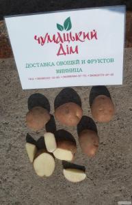 Домашню картоплю з безкоштовною доставкою по р. Вінниця (картопля)