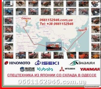 Продажа Японских мотоблоков и мини тракторов в Одессе.