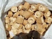 Брикет паливний Nestro ДУБ тонна в мішках по 40 кг
