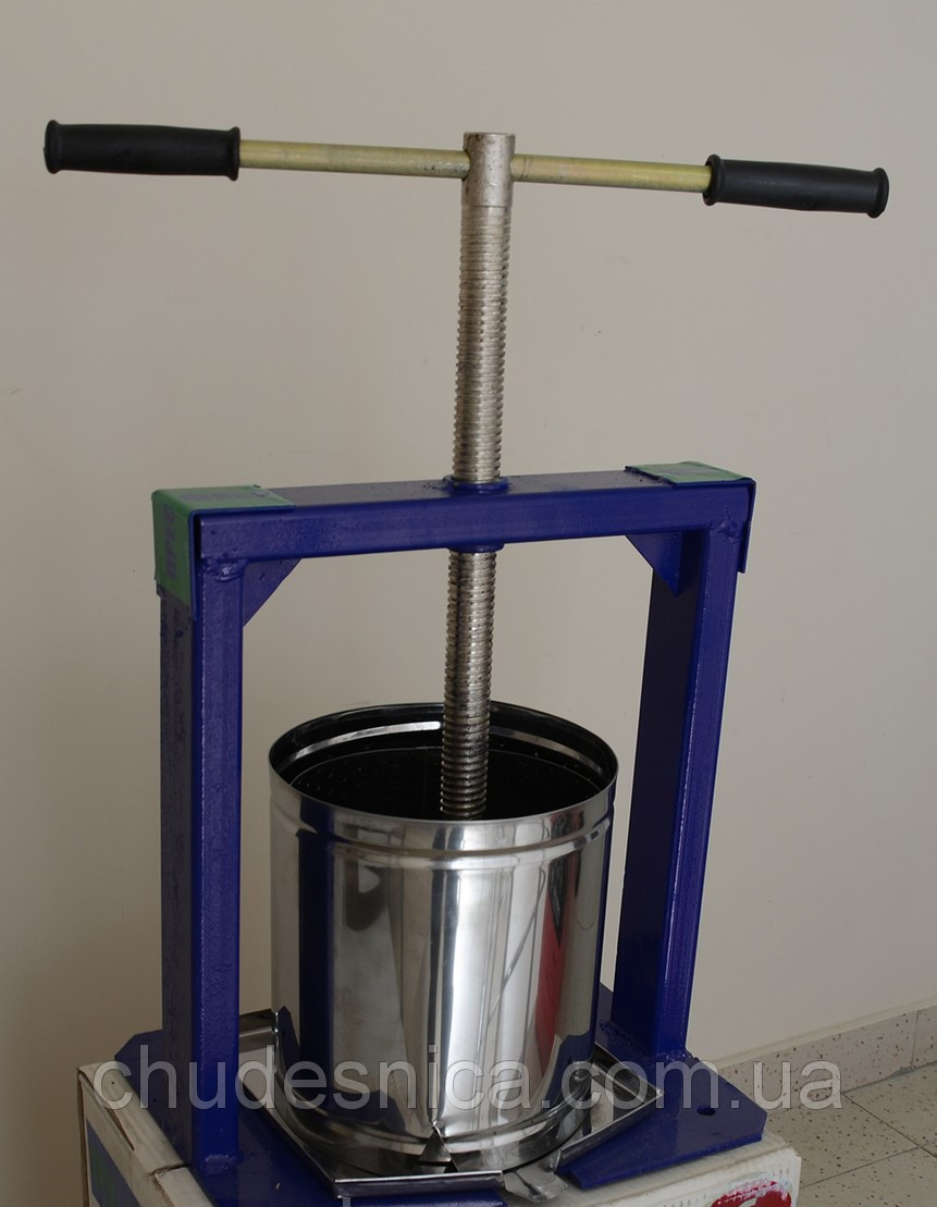 Пресс для сока ручной 6 л ВИЛЕН  (нержавейка)