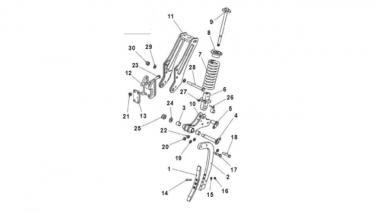 Зуби для культиватора Unia Long Ares P XXL long