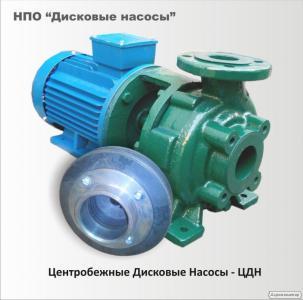Дисковий насос ЦДН 65-50-170М1 для олії з дрібними включеннями