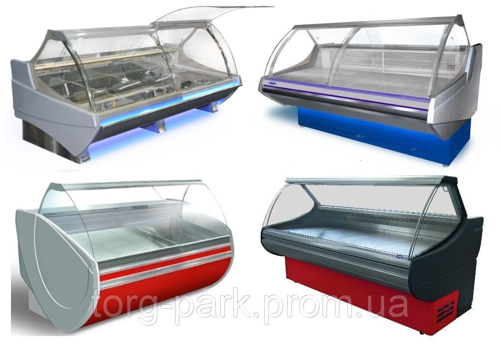 Вітрини холодильні, універсальні, морозильні. Розстрочка!