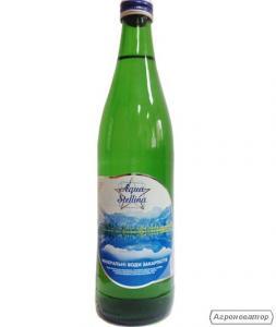 мінеральна вода 0,5 скло Aqua Stellina