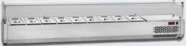 Охлаждаемая витрина плоское стекло Tecnodom VR4 120 VD