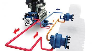 Ремонт гідростатичної трансмісії ГСТ Poclain