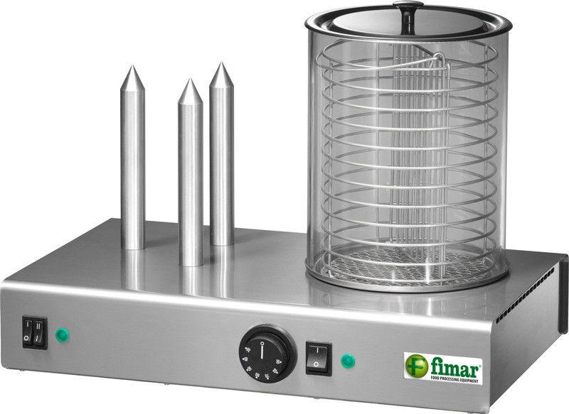 Апарат для приготування хот-догів Fimar WD3