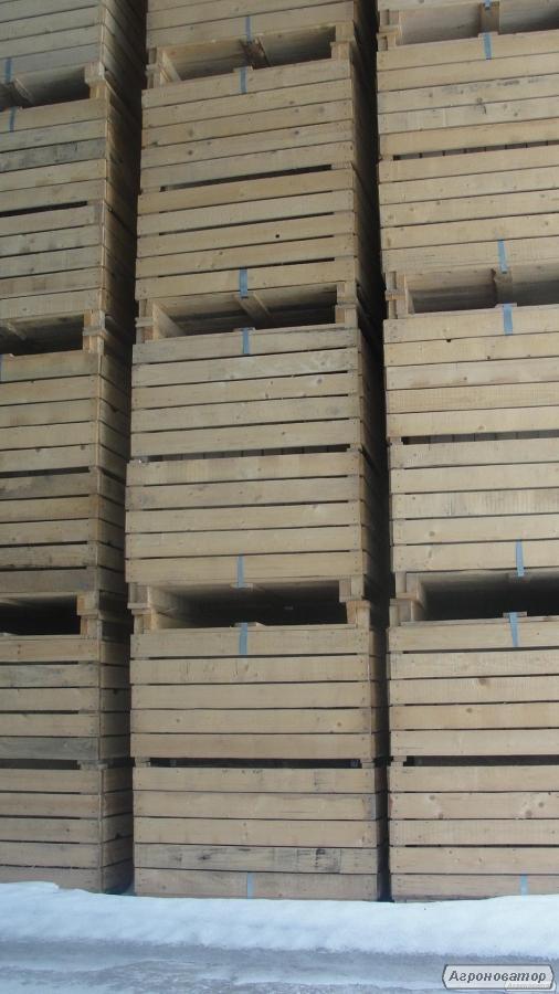 Деревянная тара (контейнеры, ящики)   для хранения овощей