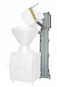 Завантажувальні пристрої для заповнення бункера шприца фаршем