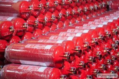 Вогнегасники та пожежний інвентар