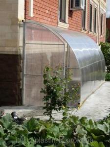 Поликарбонат сотовый (сотовый) Carboglass прозрачный 4 мм