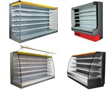 Регали/холодильні Гірки (Регал - пристінні охолоджувані стелажі)
