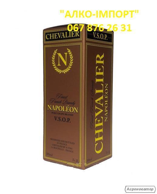 Бренди Chevalier Napoleon VSOP 2 L, 38 об. (розница, опт, дроп).