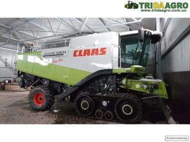 Комбайн Claas Lexion 580 Terra Trac (2009)