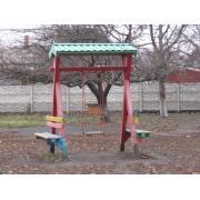 Комплектующие для детской площадки: горка, турник