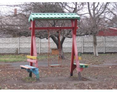 Комплектуючі для дитячого майданчику: гірка, турник