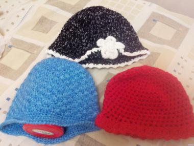 Вовняні шапки