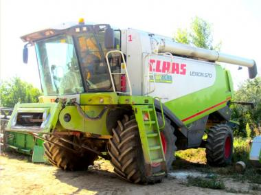 Комбайн Claas Lexion 570 (2006)