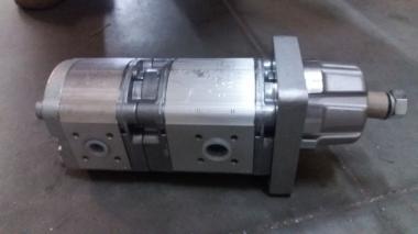 Гидронасосы шестеренные сдвоенные (двухсекционные) для коммунальной техники Schmidt
