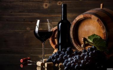 Продажа вина виноградного красного сухого оптом
