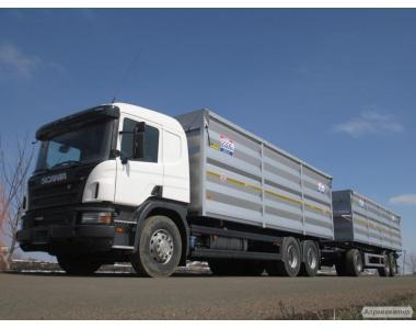 Услуги зерновоза, перевозка сельхозпродукции