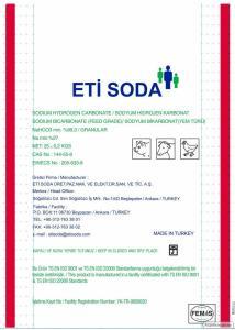 Сода кормова (бікарбонат натрію) / ETI SODA, Туреччина