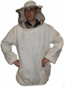 Куртка пчеловодная ткань бязь двуниточная 100% хлопок( плотная)