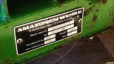 Разбрасыватель удобрений Amazone ZA-M 1200(2009)
