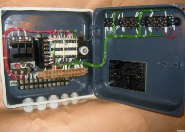 Ящик управления транспортером/конвейром РУС III