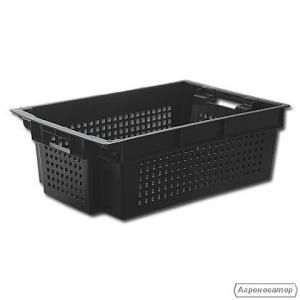 Ящик пластиковый перфорированный 60х40х20 cм