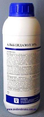 Альбендазол 10%, ІНВЕС, Іспанія, сусп. кричав. (1 л)