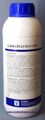 Альбендазол 10%, ИНВЕСА, Испания, сусп. орал. (1 л)