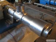 Робоча частина від маслопрес МП-100.