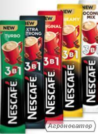 Кофе Нескафе стик 3в1 опт и розница