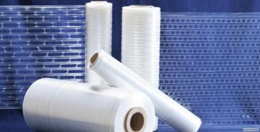 Перфорована плівка стретч для пакування свіжої продукції на палеті