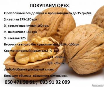 Куплю грецкий орех